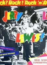 JERRY LEE LEWIS rock rock rock n roll GERMAN EX LP