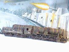 616/166  Wehrmacht Lokomotive BR 52 Panzerlok Kriegslokomotive Camo Tarnfarbe