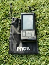 PRGR HS120A Black Pocket Golf Launch Monitor with tripod and carry bag