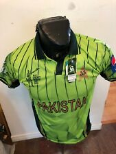 Mens Small Cricket Jersey Pakistan Icc Cricket World Cup 2015 New With Tags Nwt
