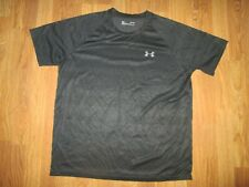 Mens Under Armour Heat Gear athletic shirt sz L Lg