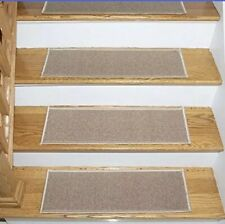 "Escalier Skid Resistant Rubber Backing Non Slip Carpet Stair Treads 8.5"" X 31"" 7"