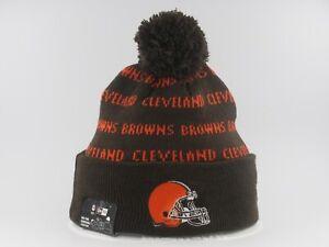 New Era NFL KNIT REPEAT KnitRepeat Winter Cold Weather Pom Pom Beanie Hat Cap