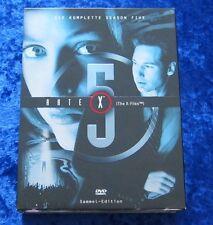 Akte X Die komplette fünfte Season Sammel-Edition, DVD Box Staffel 5, Digipack