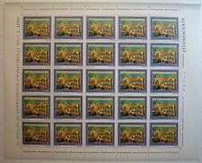 1977 ITALY 170 lire Tutismo - Locking device full sheet MNH