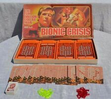1975 The Six Million Dollar Man Bionic Crisis Board Game Vintage Parker Brothers