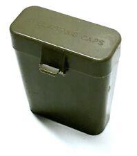 MILITARY POINT OLIVE DRAB CASE 10 TUBE BLASTING CAPS BOX