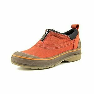 Clarks Muckers Ridge Women's  Water Proof Red Leather Shoes 26103486 (6.5M)