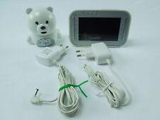 vtech BM4200 Bär Babyphone mit Videofunktion, Weiß Nachtsicht Raumtemperatur