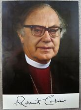 Robert Runcie Archbishop of Canterbury Signed Photo