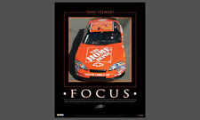 Tony Stewart FOCUS Home Depot (2006) Vintage Classic NASCAR Racing Poster