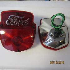 1953-56 Ford F100 stainless lights, right and left pair with FORD script.