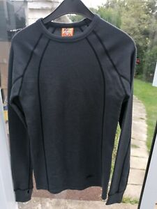 Ladies Mens Grey XTM Thermals Pure Merino Wool Top Size S Small - BNWT