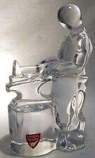 ORREFORS CRYSTAL GLASS CRAFTSMAN FIGURE  SMITH / BLACKSMITH      MIB