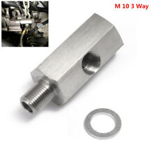 "1/8"" NPT Female To M10x1.0 Male Oil Pressure Gauge Adapter"