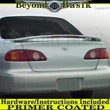 For 1998 1999 2000 2001 2002 Toyota Corolla Factory Style Spoiler w/Led Primer