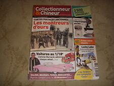 COLLECTIONNEUR CHINEUR 027 07.12.2007 LUCKY LUKE VOITURES 1/18ème MONTREURS OURS