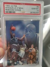 1993 Fleer Ultra Rebound Kings #9 - SHAQUILLE O'NEAL - PSA 10 MAGIC POP 11