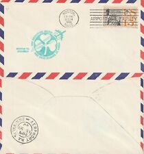 US 1960 FIRST BOEING SHAMROCK JET FLIGHT FLOWN AIR MAIL COVER BOSTON TO SHANNON