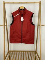 NWT RLX Ralph Lauren Men's Culb Vest Water Resistant Wind Blocking Size M