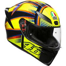 AGV K1 Valentino Rossi Soleluna 2015 Motorcycle Helmet Yellow/Black XS