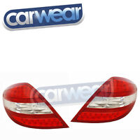 MERCEDES BENZ R171 SLK-CLASS 04-09 CLEAR RED LED TAIL LIGHTS-DEPO