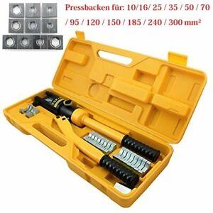 Hydraulische Kupferrohr Presszange V-Kontur Rohrpresszange 10-300mm² Pressbacken