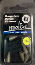 MOLIX Tungsten Bullet Sinkers Competition Series 1/8oz COL. GREEN PUMP