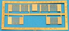 GREAT NORTHERN END RAILINGS HO Model Railroad Unpainted Brass Detail Part BKB505