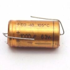 ELECTROLYTIC CAPACITOR ROE 1000uF 63V NOS (NEW OLD STOCK) 1PC. CA307U8F300617