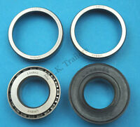 """FREE P&P* 1 x Wheel Bearing L44643 L44610 to fit 1"""" Axle for Unbraked Trailers"""