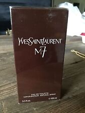 YSL M7 eau de toilette 100 ml spray first formula VINTAGE