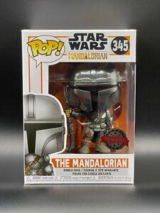 Funko Pop! Star Wars: Mandalorian 1st Edition Full Chrome Special Edition #345