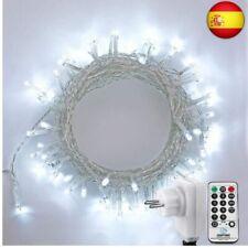 NEXVIN Luces de Arbol de Navidad, Guirnalda Luces 13M 200 LED,  (100 Led-blanco)