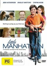 LITTLE MANHATTAN   DVD   R4    JOSH HUTCHERSON, CYNTHIA NIXON   LIKE NEW