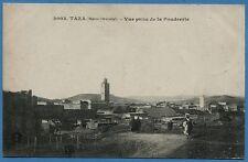 CPA: TAZA (Maroc Oriental) - Vue prise de la Poudrerie / 1918