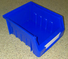 Pack of 12 Blue Dexion Maxi Bins 1012 Lin Plastic Storage Bin Container