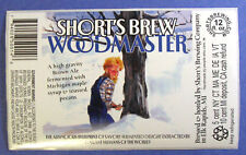 Short's Brewing WOODMASTER beer label MI 12oz STICKER