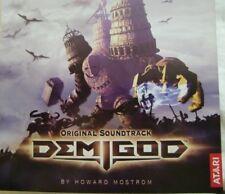 Demigod Original Soundtrack Atari Mostrom 23 Tracks neu