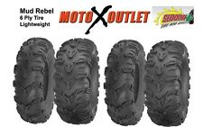 Yamaha Big Bear 350 Tires Atv Sedona Mud Rebel Mudlite set of 4