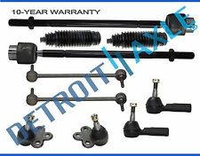 10pc Front Inner Outer Tie Rod Sway Bar Links Kit for Cadillac Deville Eldorado