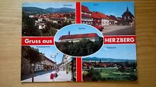 Ansichtskarte Herzberg, verschiedene Ansichten, 1995