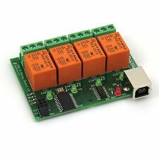 5V USB Relay 4 Channel Programmable Computer Control For Smart Home - EU seller