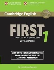 Cambridge English First 1 for Revised Exam from 2015 Student's Book with...
