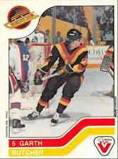 1983-84 Vachon Garth Butcher Vancouver Canucks #103