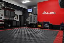 Audi Garage Sign 4.5 Feet Long  Brushed Silver