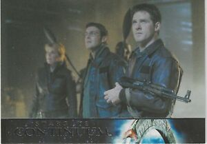 Stargate Heroes Trading Cards Stargate Continuum Chase Card SC14 Good+ Condition