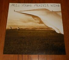 Neil Young Prairie Wind Poster 2-Sided Flat Square 2005 Promo 12x12