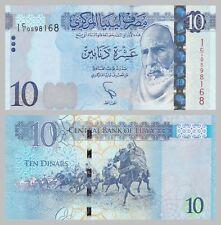 Libye/Libye 10 dinar 2015 p82 unz.