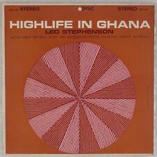 HIGHLIFE IN GHANA: Leo Stephenson US Disc DS-1107 Rex Ofosu '64 African LP Vinyl